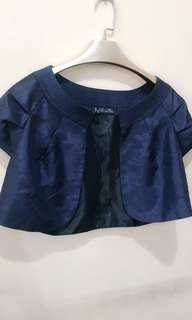 bolero navy  blue for office  or formal attire