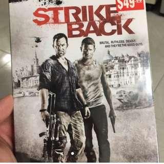 Tv Series. Strikeback DVD Set.