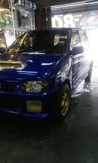 Kancil turbo rxz
