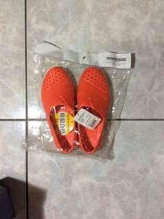 洞洞鞋系列-舒適輕量休閒鞋-橘色-37號 特價290