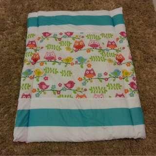 Baby Comforter Fiber Material Alas Tilam Tidur Bayi Owl