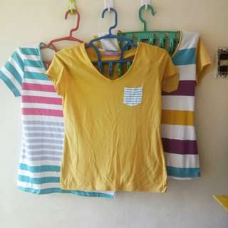 Bundle Pocket T-shirts