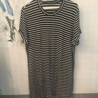 Brandy Melville Free sized striped dress