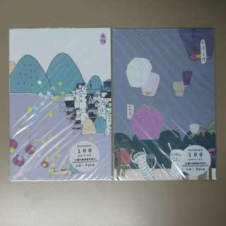 Taiwan Jiufen and Pingxi Postcards