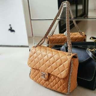 Chanel Maxi Chain Around Shoulder Bag