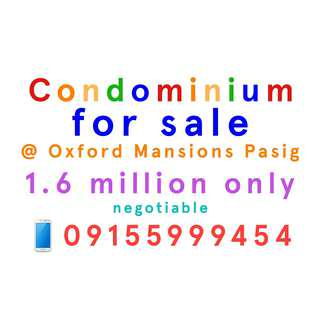 Condominium for sale at New Santolan Pasig really affordable