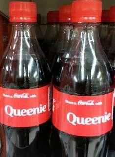 """可口可樂 """"Queenie"""" 一支 (只作收藏)"""