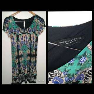 Authentic Dorothy Perkins Sexy Dress printed