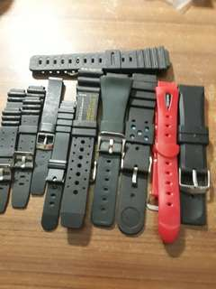 Rubber Watch Strap