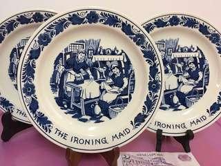 Royal Goedewaagen Blue Delft Display Plates