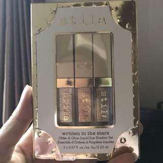 Stila Glitter and Glow Liquid Eye Shadow Set #maudecay