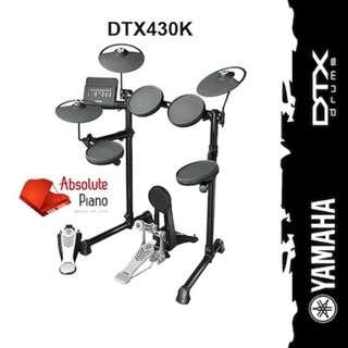🚚 YAMAHA Electronic Drum : DTX430K