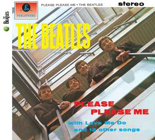 """Please, Please Me"" Replica Album By The Beatles"