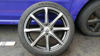 Mugen MD8 Rim with Michellin 205/45 ZR17 Tyre 17""