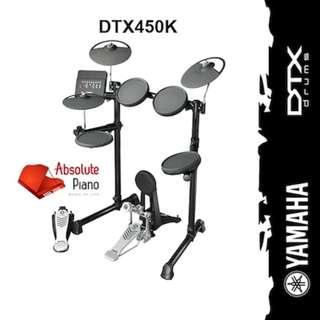 🚚 YAMAHA Electronic Drum : DTX450K