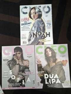 Cleo magazines 2017 & 2018