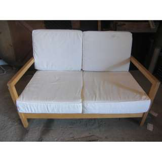 尚典中古家具(二手家具)~中古布沙發(二手沙發)宜家兩人座布沙發