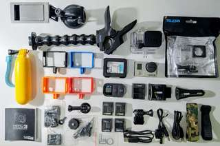 GoPro Hero 3 Black Edition All in Package