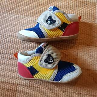 Excellent Double b Mikihouse Boys sneakers / shoes 14cm 2t