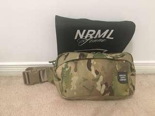 Herschel's camo fanny pack