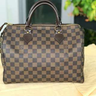 😍PRELOVED LV SPEEDY 30 DE😍