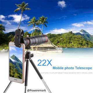 22x mobile photo telescope