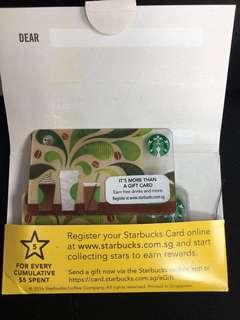 7 x $10 Starbucks card