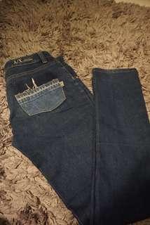 armani exchange jeans original