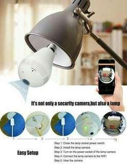 360° CCTV Bulb