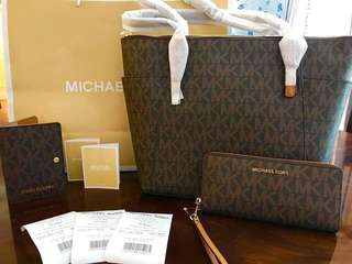 Original Mk bag, wallet and pp holder