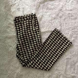 Zara houndstooth pants slacks trousers