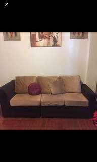 REPRICED!!! 3-seater sofa!
