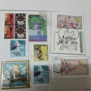 本港信銷郵票10個 Hong Kong stamps