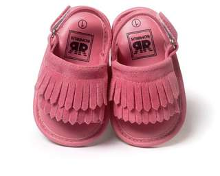 Candy colour girls toodler infant sandals