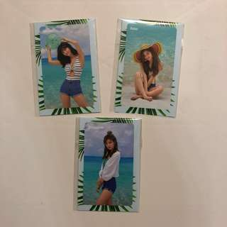 Twice Summer Nights 專輯 小卡 Message Cards