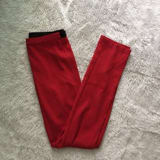 BCBG trousers red pants