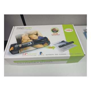 magicScan 2-in-1 Portable Scanner