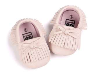 Baby princess tassel shoes