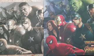 Avengers road to infinity war