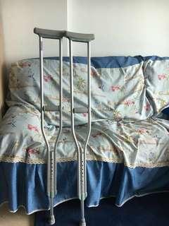 Almost New crutches