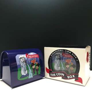 Mini Coinbox: Lion City