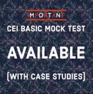 CEI 400 Questions plus Case Studies
