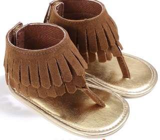 Baby girls tassel shoes