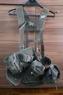 德軍 H帶+5個袋+腰帶