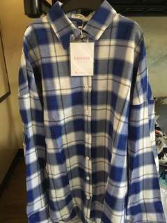 Boyfriends Plaid Polo