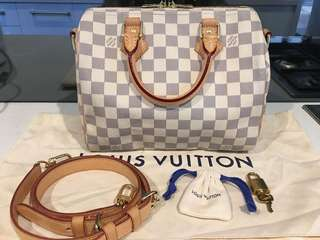Authentic Louis Vuitton Speedy Bandouliere 25