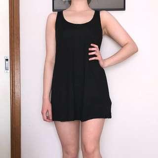 Black Mink Dress