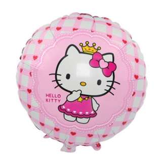 "HELLO KITTY FACE 18"" BALLOON 12 pcs"