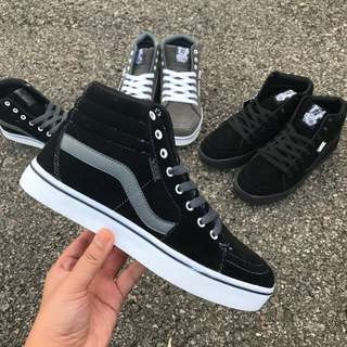 Vans Oldskool 2.0 Black with Grey Line