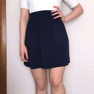 Aline Navy Skirt